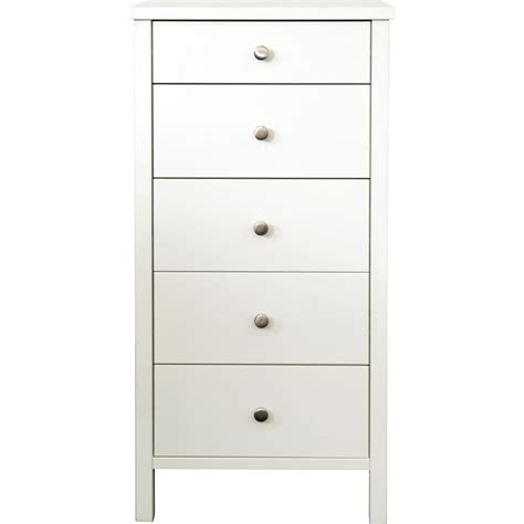 white tall chest of drawers uk steens raised chest of drawers tall narrow chest 5