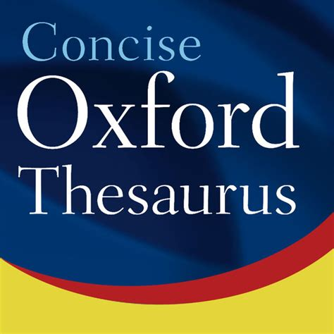 Thesaurus Lookup Oxford Concise Thesaurus On The App Store