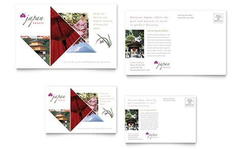 japan travel brochure template japan travel brochure template design