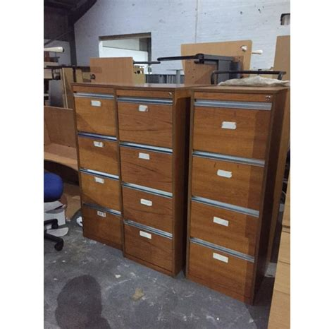 Wooden Filing Cabinets New Used Office Furniture Used Wood Filing Cabinets