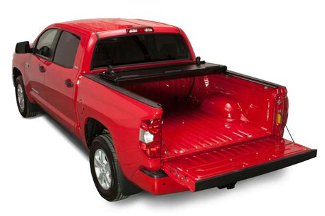 toyota tundra bed cover 2007 2018 toyota tundra hard folding tonneau cover