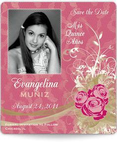 1000 Images About Quinceanera Invitations And Save The Dates On Pinterest Quinceanera Free Quinceanera Save The Date Templates