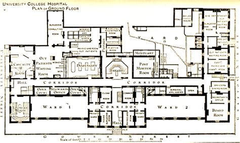 floor plans medical academic center included in the map is lord