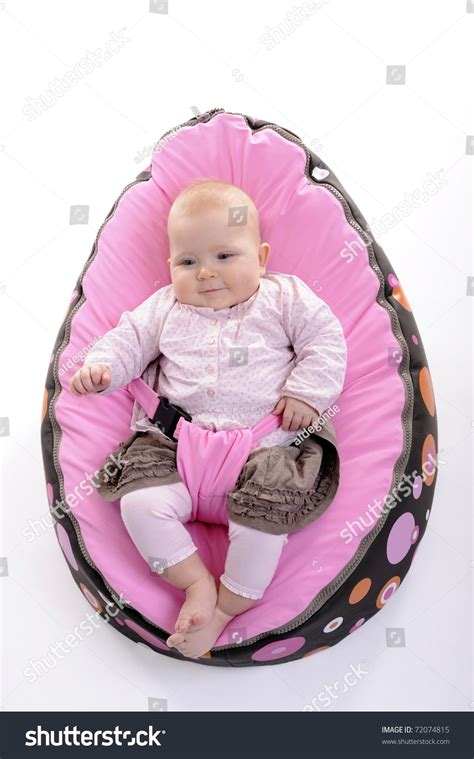 Egg Chair Baby by Baby Lying In An Egg Chair Stock Photo 72074815