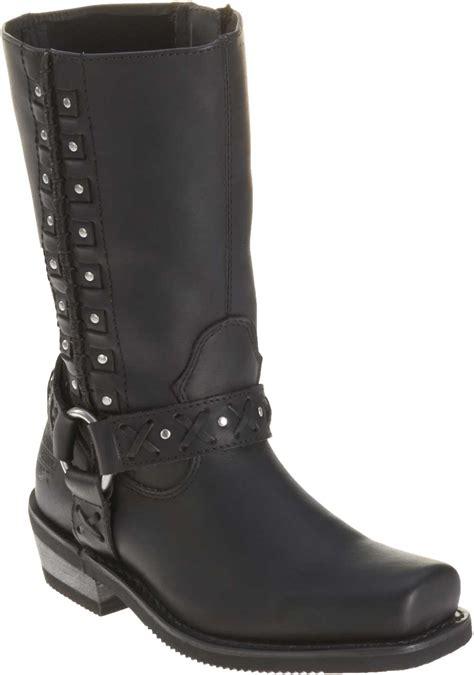 motorcycle boots harness harley davidson s auburn black harness 9 inch
