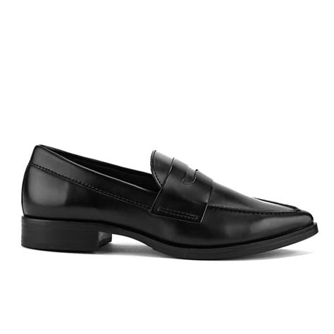 pointed loafers womens steve madden s lindie pointed leather loafers
