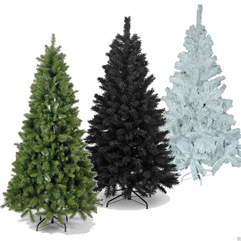 6ft 180cm christmas tree 600 tips pine look metal stand in