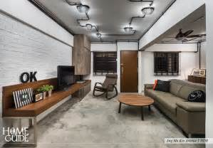 Hdb industrial interior design by homeguide holdings