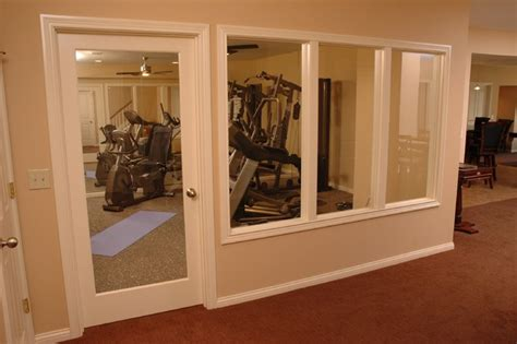 Basement Remodeling Ideas basement with bar theatre and workout room traditional