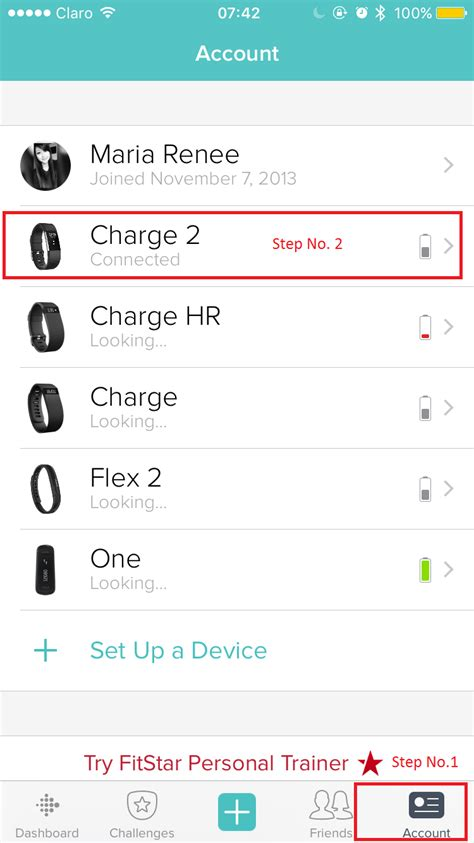 Reset Fitbit Online Account | factory reset charge 2 fitbit community