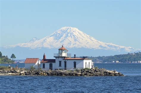 West Point Light by West Point Lighthouse Washington At Lighthousefriends