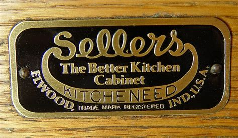 1916 Sellers Kitcheneed Cabinet   i have this brand, belonged to grandma Mae  Indiana   Home