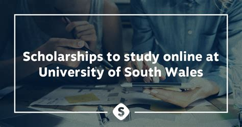 Of South Wales Mba Scholarship by Scholarships To Study At Of South Wales