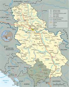 map of serbia welcome to serbia danube on thames