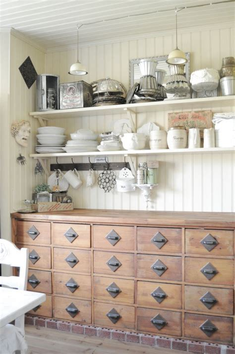form versus function apothecary chest in the kitchen