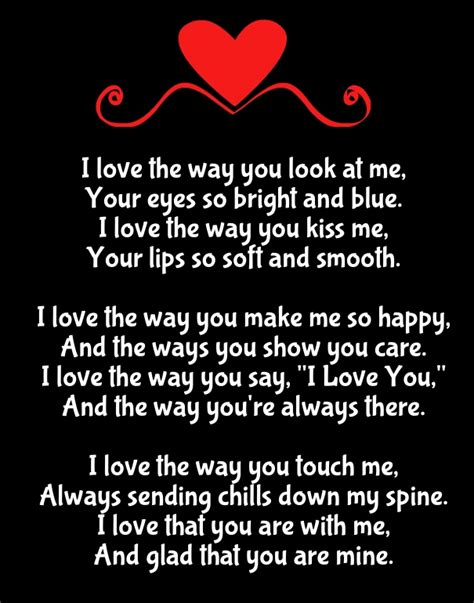 i miss you so much love poems from the heart why i love you poems with reasons for her him quotes
