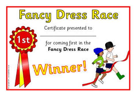 sports day certificate template fancy dress race sports day certificates sb4674 sparklebox