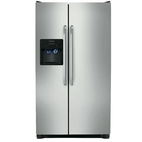 frigidaire 22 07 cu ft side by side refrigerator in