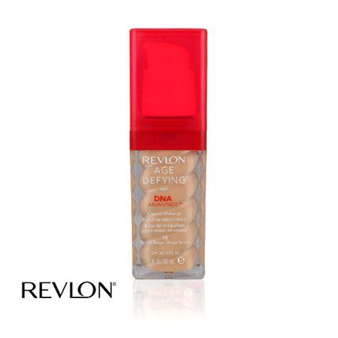 Bedak Revlon Age Defying revlon age defying foundation with dna 15 tender beige 30ml ebay