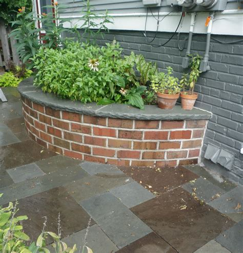 small planter box ideas in japanese courtyard garden