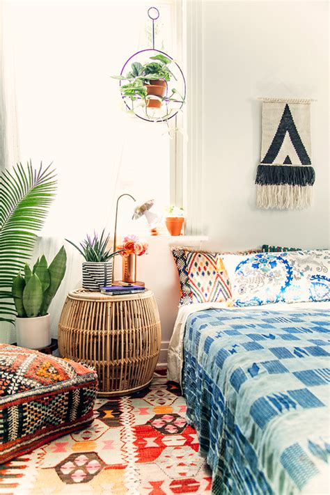 bohemian themed bedroom 10 staples every boho home needs with etsy jungalowjungalow
