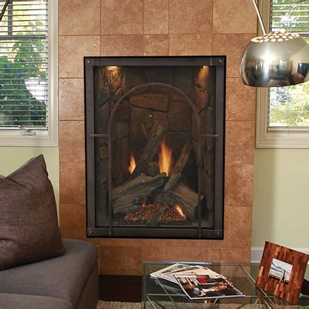 empire gas fireplaces empire forest traditional direct vent fireplace lp