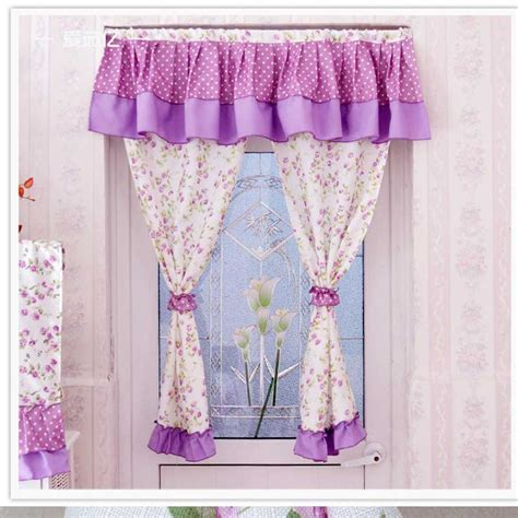 sale 100 cotton kitchen curtains pastoral