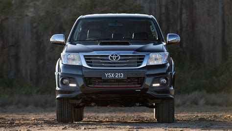 cars toyota black 2014 toyota hilux black edition detailed car news