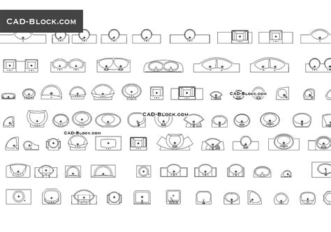 House Plan Symbols by Washbasin Free Cad Blocks Download Autocad Models In Plan