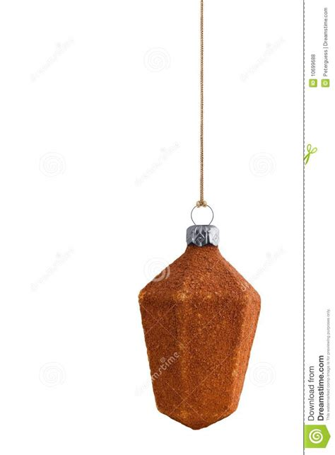 brown christmas bauble royalty free stock photos image