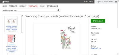 wedding thank you card template publisher make wedding planning easier using microsoft office