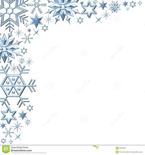 winter templates snowflake border clipart free clipartsgram