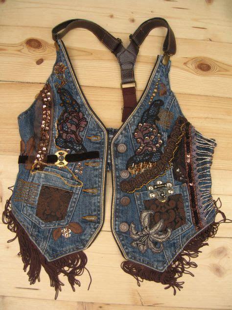 Etnik Vest decorated vest steunk clothing embroidered
