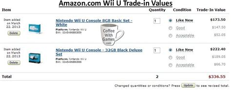amazon xbox one trade in gamestop trade in values wii system