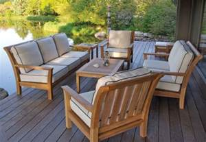 outdoor patio decor things to be aware of when buying teak patio furniture