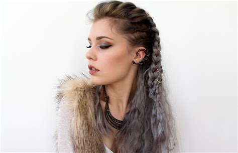 how to do your hair like vikings lagertha vikings lagertha inspired hair tutorial youtube