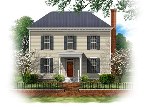 westover house plan bsa home plans westover georgian historic