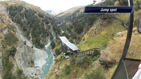 highest cliff dive world s highest cliff jump new zealand queenstown