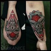 Ram Head Tattoo...