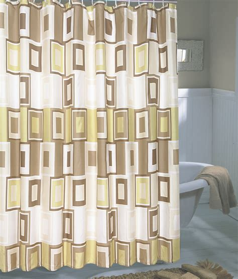 extra wide fabric shower curtain carnation home fashions inc extra wide fabric shower