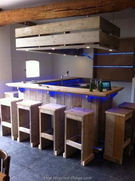 We Bar Bars Prodigious Ideas Of Pallet Recycling Recycled Things