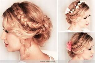 easy medium hairstyles for on the go easy hairstyles for long hair make these updos without