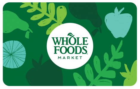 Whole Foods Online Gift Card - whole foods market gift cards bulk fulfillment order online