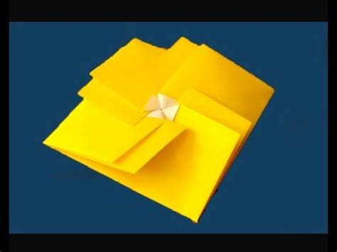 origami square envelope easy and rich claudine s tato
