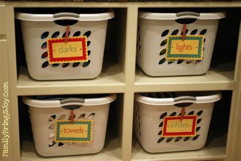 Creative Ways To Repurpose Laundry Baskets Sorting Laundry