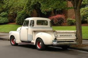 parked cars 1951 chevrolet 3100
