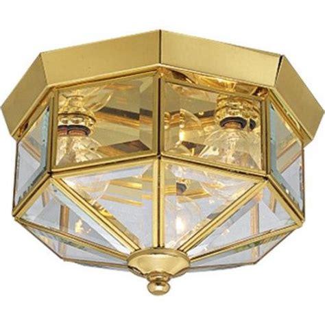 Brass Landscape Lighting Fixtures Progress Lighting P5788 Ceiling Fixtures Beveled Glass