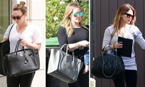 Hilary Duffs Michael Kors Bag by The Many Bags Of Hilary Duff Purseblog