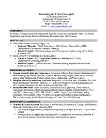 Summer Internship Resume Objective by Summer Internship Resume Pdf File