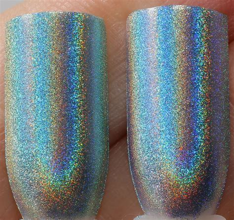 Blauer Engel Farbe by Color Club Halo Hues Holographic Polishes Swatches And